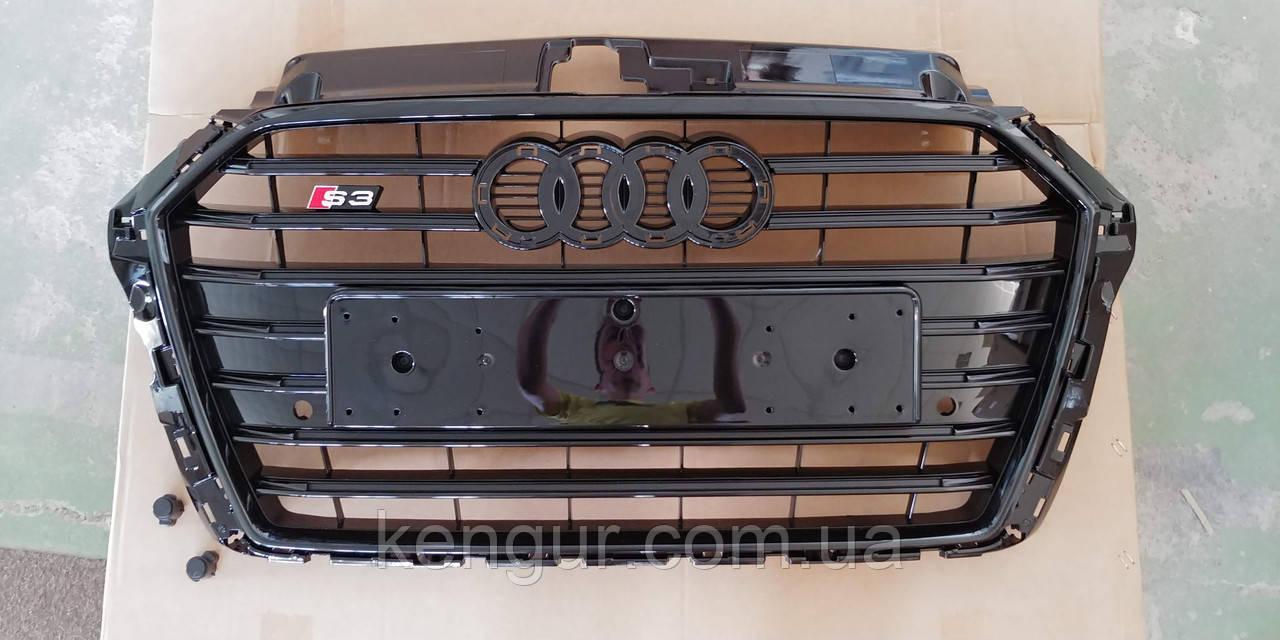 Решетка радиатора AUDI A3 8V 2016 в стиле Audi S3