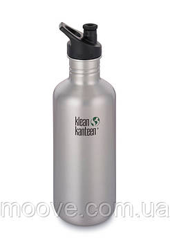 Klean Kanteen Classic Sport Cap Brushed Stainless 1182 мл