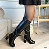 Сапоги женские зимние черные эко-кожа :) В НАЛИЧИИ ТОЛЬКО 37 38р, фото 4