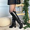 Сапоги женские зимние черные эко-кожа :) В НАЛИЧИИ ТОЛЬКО 37 38р, фото 5