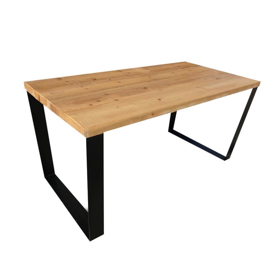 """Деревянный столик""""Мотти"""" из чистого дерева в стиле loft"""