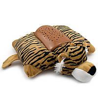 Нічник подушка Тигр, проектор зоряне небо тигр