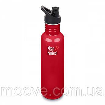 Klean Kanteen Classic Sport Cap Mineral Red 800 мл