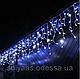 Светодиодная уличная новогодняя гирлянда бахрома 10м 30см *50см (200ламп) led(всецвета), фото 2