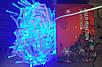 Светодиодная уличная новогодняя гирлянда бахрома 10м 30см *50см (200ламп) led(всецвета), фото 5