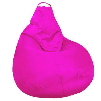 Кресло мешок SOFTLAND Груша для подростков L 110х80 см Розовый (SFLD23), фото 2