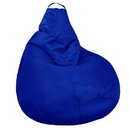 Кресло мешок SOFTLAND Груша для подростков L 110х80 см Синий (SFLD24), фото 2