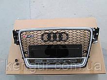 Решетка радиатора Audi A4 2008-2011 стиль RS4 QUATTRO