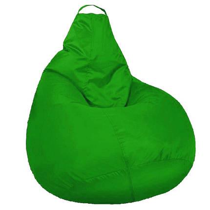 Кресло мешок SOFTLAND Груша стандартный взрослый XL 120х90 см Зеленый (SFLD34), фото 2
