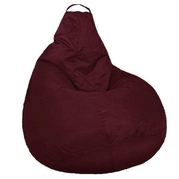 Кресло мешок SOFTLAND Груша стандартный взрослый XL 120х90 см Бордовый (SFLD35)