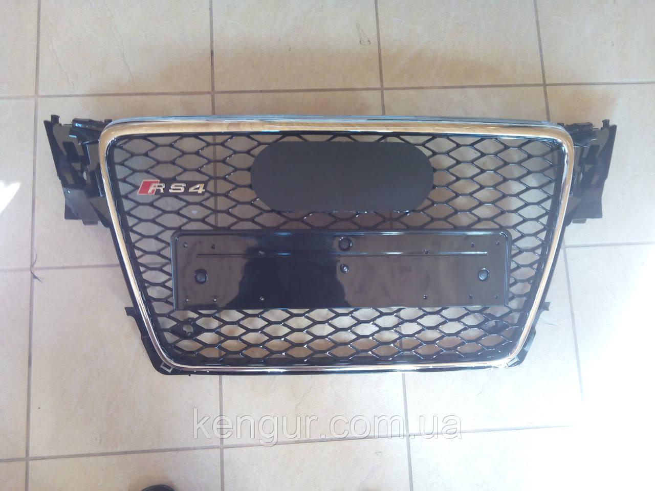 Решетка радиатора Audi A4 стиль RS4