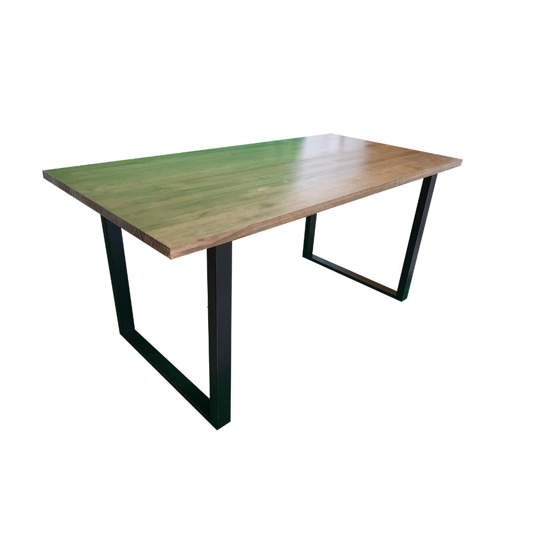 """Деревянный стол """"Норд"""" из массива дерева в стиле loft"""