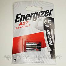 Батарейка ENERGIZER Авто 27А, 2шт/блістер