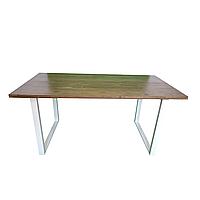 """Прямокутний дерев'яний стіл """"Норд"""" для кафе барів з масиву дерева"""