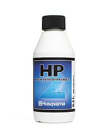 Масло Husqvarna HP двухтактное. 0,1 л Полусинтетическое, моющая присадка
