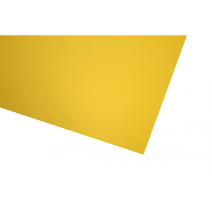 Фоамиран 1 мм, 20х30 см, желтый