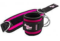 Манжеты на лодыжку Power System Ankle Strap Gym Babe PS-3450 Pink