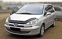 Дефлектор капота Peugeot 807 с 2002-2011 г.в. (Пежо 807) Vip Tuning
