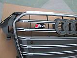 Решетка радиатора Audi A4 2012-2015 стиль S4, фото 2