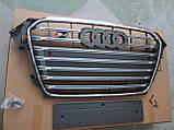 Решетка радиатора Audi A4 2012-2015 стиль S4, фото 3