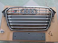 Решетка радиатора Audi A4 2012-2015 стиль S4