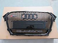 Решетка радиатора Audi A4 2012-2015 стиль RS4 Quattro
