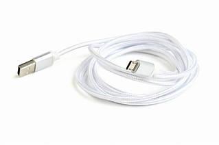 Кабель Cablexpert (CCB-mUSB2B-AMBM-6-S) USB 2.0 - Micro B, 1.8м, серебристый