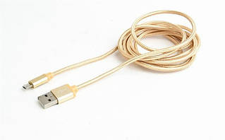Кабель Cablexpert (CCB-mUSB2B-AMBM-6-G) USB2.0 A - Micro USB B, 1.8м, золотистый