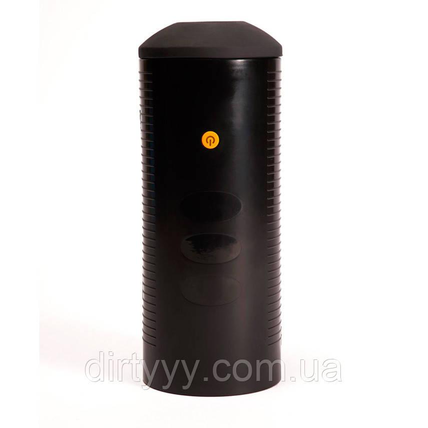 Интерактивный мастурбатор - Virtual Blowbot Stroker, цвет: черный
