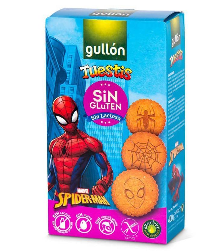 Печиво GULLON, NEW Spiderman без глютену, 400г, 10шт/ящ