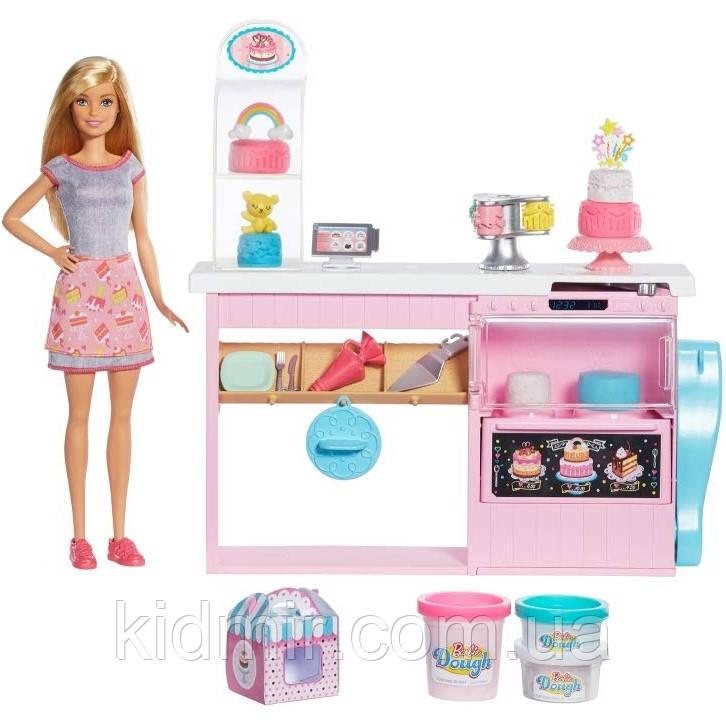 Кукла Барби Кондитерский магазин Barbie Cake Decorating GFP59