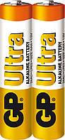 Батарейка GP Ultra Alkaline LR03 ААА 1.5V 2шт. (24AUEBCHM-2S2)
