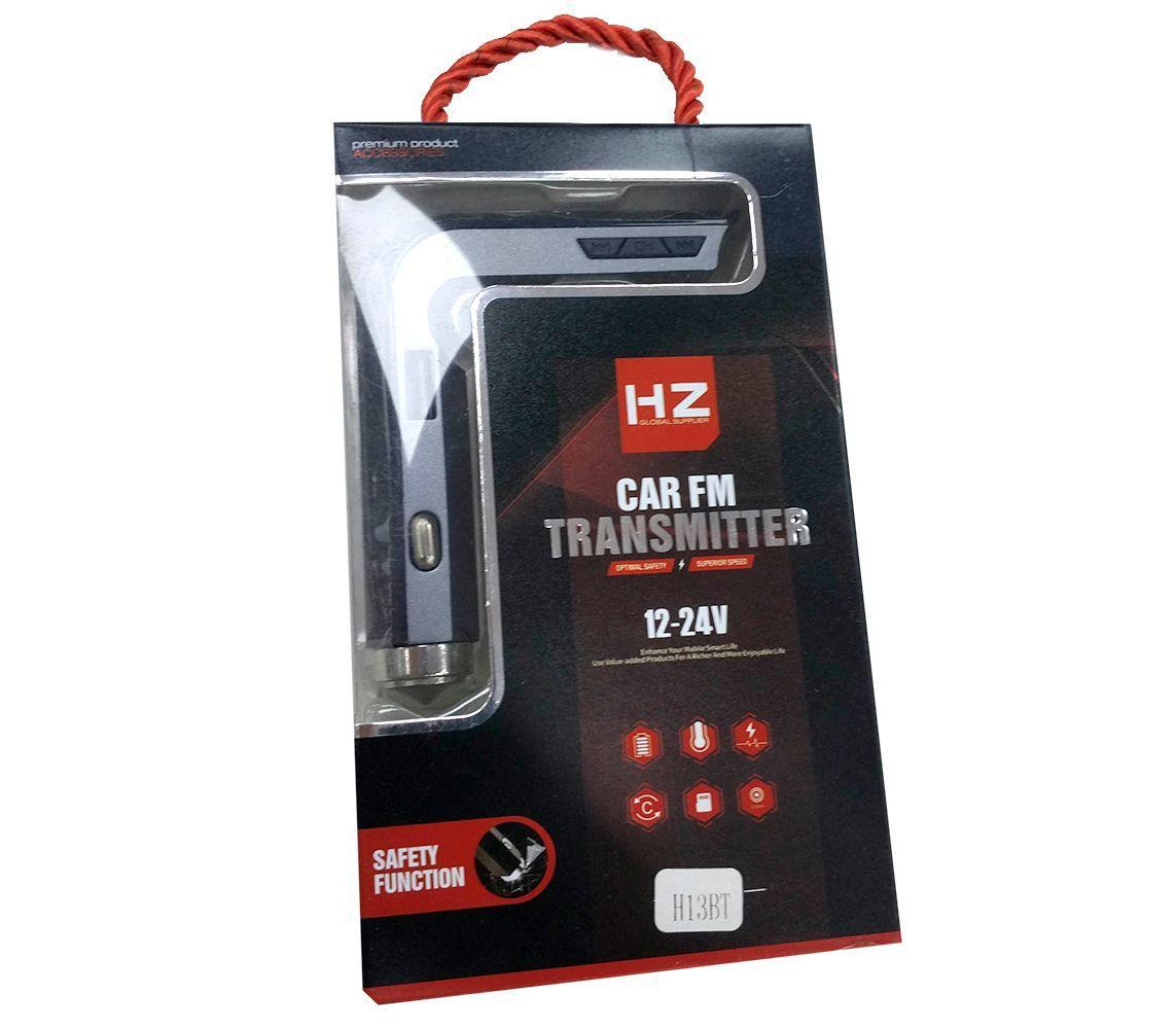 Автомобільний FM модулятор H13BT( Bluetooth, microSD, AUX,USB) / FM трансмітер