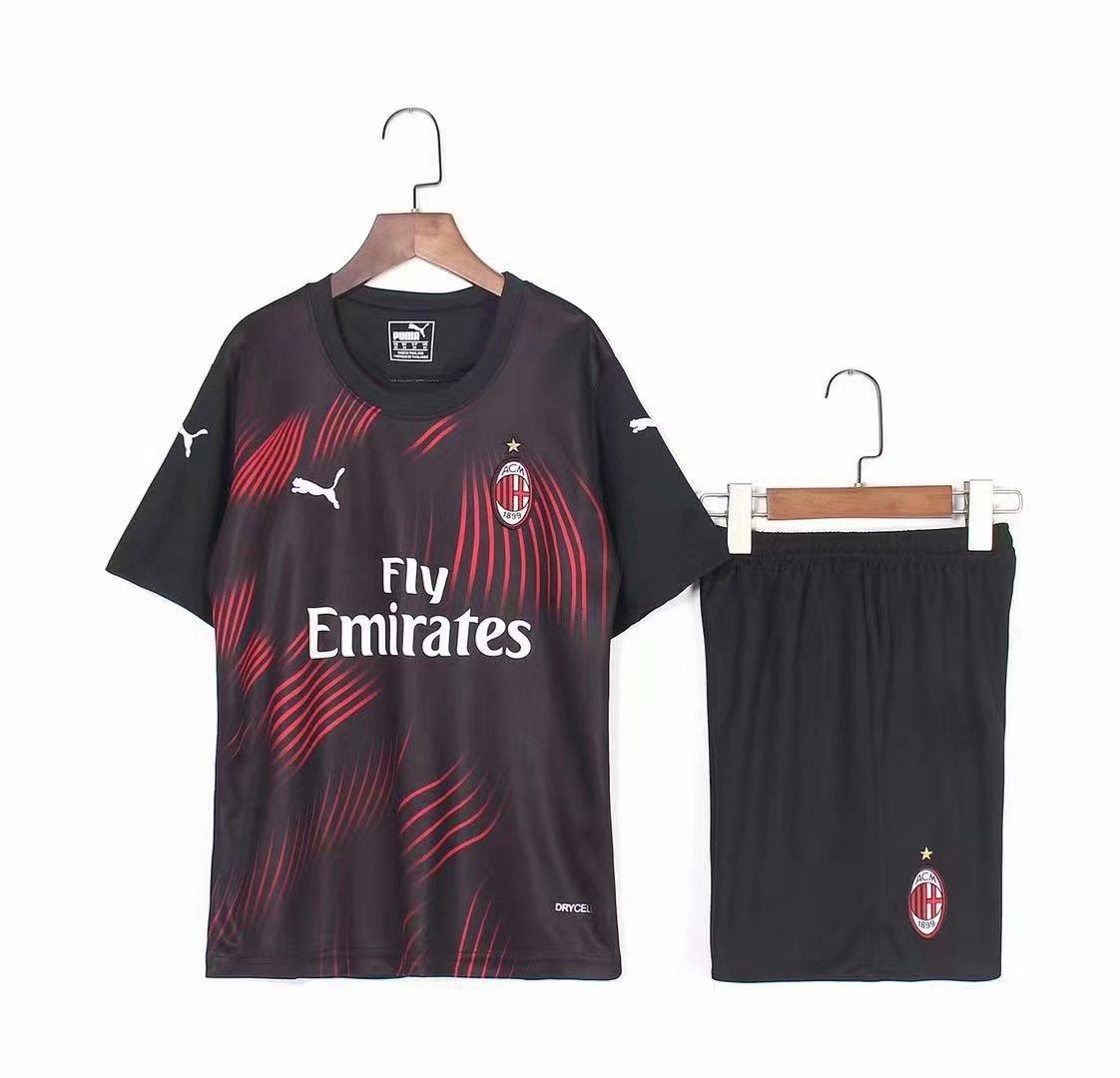 Дитяча футбольна форма Мілан AC Milan резервна 2019-20