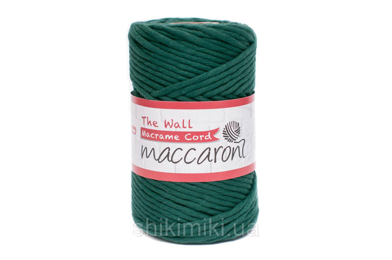 Эко шнур Macrame Cord 3 mm, цвет Бутылочный