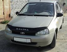 Дефлектор капота  Lada Kalina с 2004,  Мухобойка Lada Kalina