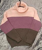 Женские свитера в полоску