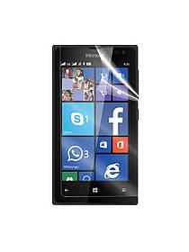 Глянцевая защитная пленка для Microsoft Lumia 435 Dual Sim