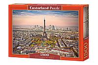 Пазлы Париж  1500 элементов  Castorland