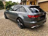 Диффузор заднего бампера Audi A4 2016 стиль Audi Rs4, фото 5