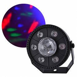 Лазер диско QY-PAL069, 9 LED RGB, 220V проектор