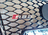 Решітка радіатора Audi A5 2007-2011 в стилі RS5, фото 3