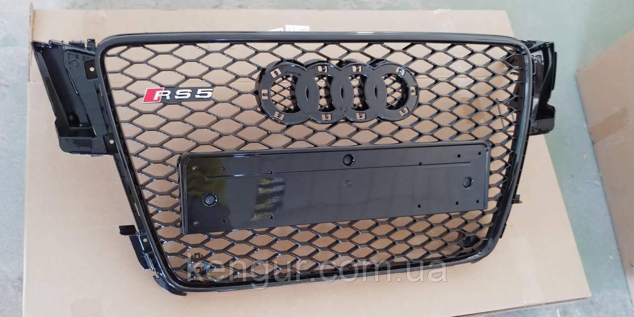 Решетка радиатора Audi A5 2008-2011 стиль Audi RS5