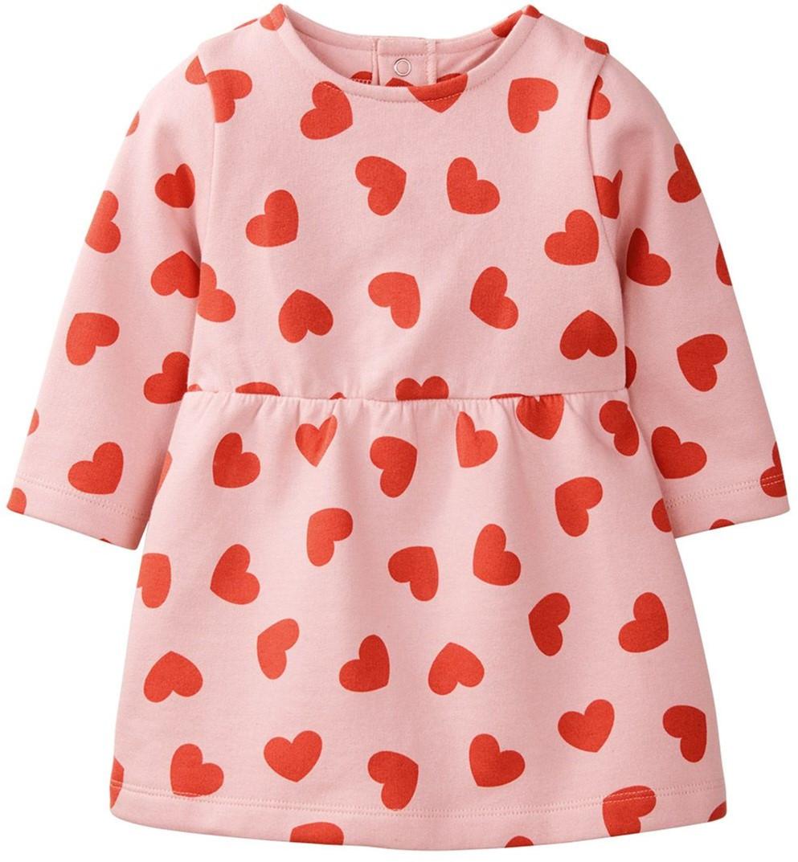 Туника, платье розовое Сердце Lupilu, Германия р.62/68см