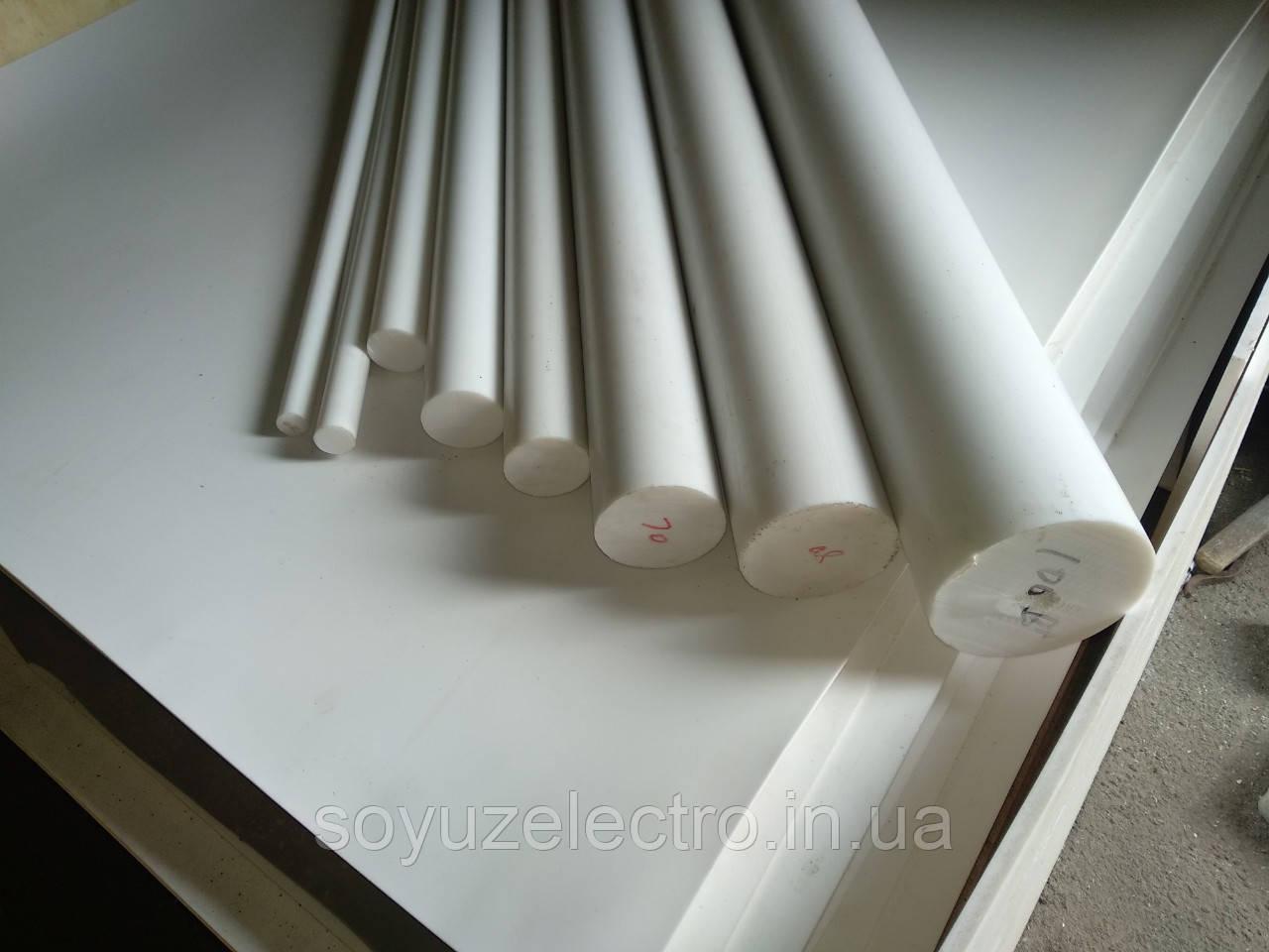 Фторопласт стержень Ф4 10-200 мм