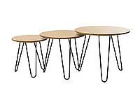 CS-15 Комплект кофейных столов(орех)