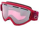 Гірськолижна маска Bolle Schuss Red Matte Vermillon Gun, фото 2