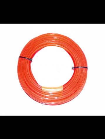 Корд триммера Husqvarna Quadra 3.0x48m Donut Red    | 5908464-05, фото 2