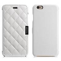Чехол iCarer для iPhone 6/6S Microfiber Check White (RIP604W)