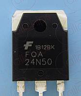MOSFET N-канал 500В 24А Fairchild FQA24N50 TO3PN